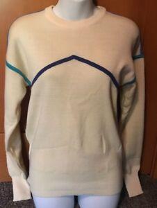 Vtg Vintage Ski Sweater Wool Winter Large Obermeyer