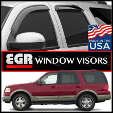 EGR 1997-2010 Ford Expedition Navigator Tape-On Window Vent Visors Deflectors