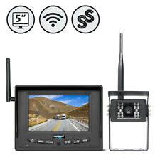 "Wireless Backup Camera System with 5"" Single Screen Monitor RVS-155W"