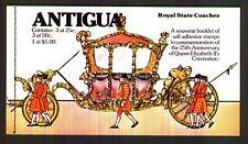 Antigua - 1978, Coronation Booklet - Self Adhesive - SG 587/9