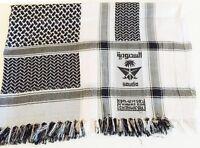 Shemagh Military, Arab, Army, SAS, Keffiyeh Desert Scarf 100% Woven Ladies Wrap