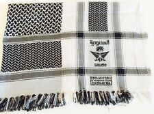 Shemagh Military, Arab, Army, SAS, Keffiyeh Desert Scarf 100% Woven Ladies Wrap