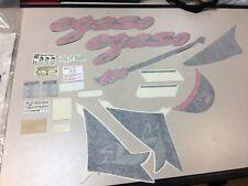SERIE ADESIVI DECALCO Genuine APRILIA Pegaso 650 Sticker Decor
