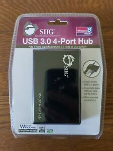 SIIG 4-Port Industrial USB 3.0 Hub with 15KV ESD Protection - Free Shipping