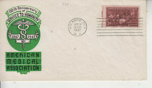 FDC #949 DOCTORS A/M.A IOOR CACHET UNADDRESSED UNSEALED GEM CONDITION