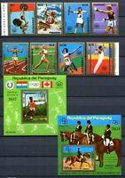 Paraguay 1976 Olympiade Olympics Montreal 2704-2711 + Block 254-255 MNH
