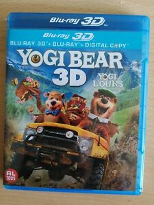 "DESSIN ANIME ""YOGI BEAR"" EN COMBO BLU-RAY - BLURAY 3D (ENVOI MONDIAL RELAY)"