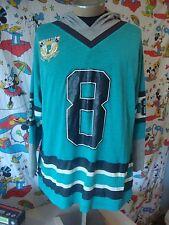 Vintage PERMIT Hockey Gear 90's Rap Hip Hop Hoodie Jersey T Shirt Men's XL
