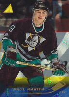 1995-96 Pinnacle Rink Collection Parallel Hockey Cards Pick From List