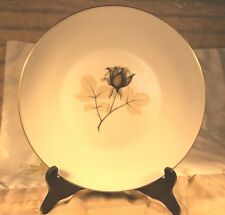 ROSENTHAL China SHADOW ROSE 14 Dinner PLATES 9-1/2 in Diameter Vintage EXCELLENT
