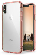 For iPhone X XS | Ringke [FUSION] Clear PC Back Shockproof Protective Cover Case