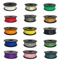 Premium 3D Printer Filament 1kg/2.2lb 1.75mm 3mm PLA ABS Non-toxic eco-friendly