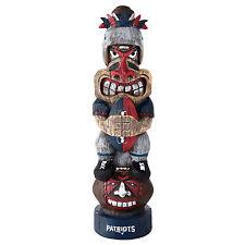 "New England Patriots NFL Team Tiki Totem Figurine 16"" Tall"