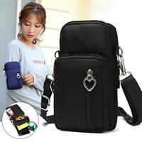 Women's Lovely Mini Cross-Body Cell Phone Shoulder Strap Wallet Pouch Bag New