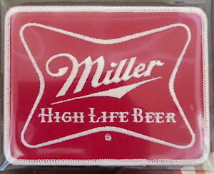 MILLER HIGH LIFE BEER / BOBBY ALLISON ~ Willabee & Ward NASCAR RACING TEAM PATCH