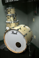 """Pearl Masters Maple/Gum Series 4-Piece Shell Pack w/ 22"""" Bass Druml"""