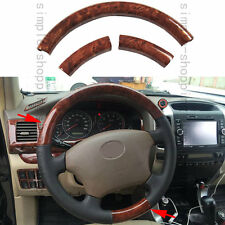 3PCS Agate Color Inner Steering Wheel Dec Cover Trim For Hyundai Tucson 05-2009