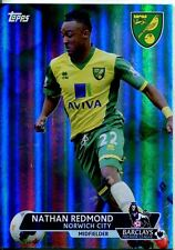 Premier Gold Soccer 13/14 Green Parallel Base Card [/99] #163 Nathan Redmond