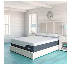Classic Brands Cool Gel Chill Memory Foam 14-Inch Mattress King Bed White +Bonus