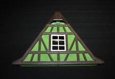 Playmobil moyen âge vintage façade de toit verte 3440