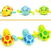 Bath Pool Toys Educational Clockwork Bathtub Wind Up Tortoise Water Toy for Baby