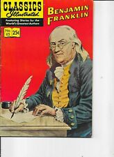 Classics Illustrated   #65  hrn 169   Benjamin Franklin