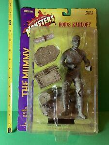 Sideshow Toy UNIVERSAL MONSTERS The Mummy Boris Karloff Figure Sealed 1998