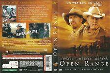 UNIQUEMENT LA JAQUETTE POUR DVD : OPEN RANGE avec KEVIN COSTNER