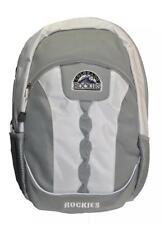 Mlb Colorado Rockies Gray Team Backpack 17.5 inch