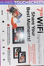Sylvania 7'' WIFi DIGITAL PHOTO FRAME.Hi-Rise Touchscreen,Mobile App Driven*NEW*