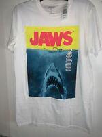 Jaws T-Shirt Shark Attack Survival Kit Natural Tee