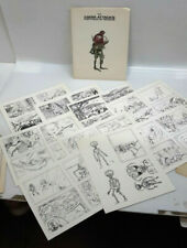 1980 Mars Attacks Portfolio of Roughs-Wally Wood-36 Prints- Ltd Ed 1200 (J-6049)