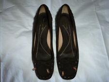 "Kate Spade ""Laney"" Suede Kitten Heels size 8.5 Brown"