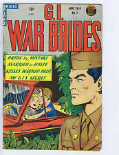 G.I.War Brides #2 Superior Pub Canadian Edition 1954