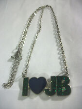 Justin Bieber I (heart) JB Mood Color Change Necklace Super Cute