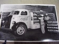 1939 FORD CAB OVER COCA COLA TRUCK  12 X 18  LARGE PICTURE  PHOTO
