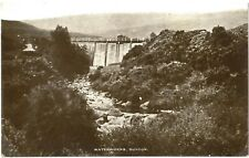 DUNOON Dam WATERWORKS Cowal Scotland Photo PC to Falkirk 1916