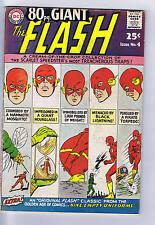 80 Page Giant the Flash #4 DC Pub 1964