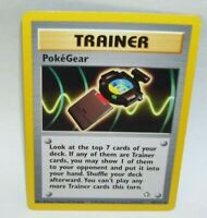 Rare Pokemon Card Trainer Poke'Gear 88/111 1995 - 2000 Nintendo