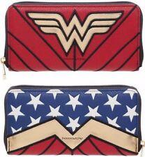 "Licensed DC Comics ""CLASSIC"" Wonder Woman  Zip Around Clutch Wallet NEW!"