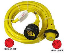 Conntek 50ft. 30 Amp 125 Volt Marine Shore Power Cord - 17105-050RE