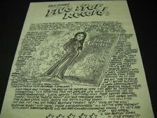 BOBBIE GENTRY 1999 Promo Display Ad for LOCAL GENTRY clever record review