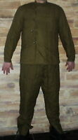 60s USSR MILITARY surplus WW2 VATNIK Telogreika quilted cotton trousers + jacket