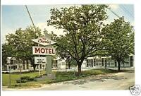 ADEL GEORGIA GA THE CHARLES MOTEL  POSTCARD
