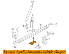 GM OEM Rear Suspension-U-bolt Spacer 15885530