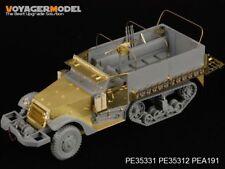PE pour la seconde guerre mondiale US M3 HALF TRACK (for dragon 6332), 35331, voyagermodel