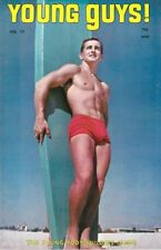 Young Guys No.17 June 1968 Tomorrow's Man, Vintage Male Beefcake Magazine, Rare