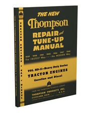 1939-1948 Thompson Tractor Engine Tune-up Shop Manual Gas Diesel Repair Service