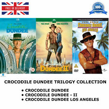 CROCODILE DUNDEE TRILOGY COLLECTION PART 1 2 LOS ANGELES MOVIE NEW REGION 2 DVD