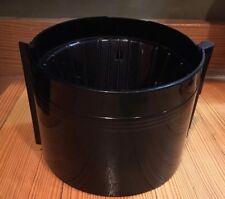 Krups Gevalia 10 Cup Black Coffee Maker 396 Replacement Filter Basket Holder